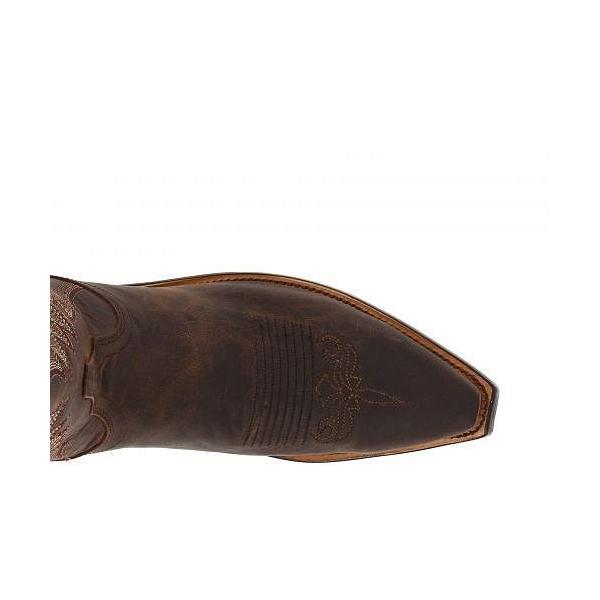 Lucchese ルケーシー レディース 女性用 シューズ 靴 ブーツ ウエスタンブーツ M5002 - Chocolate Madras Goat