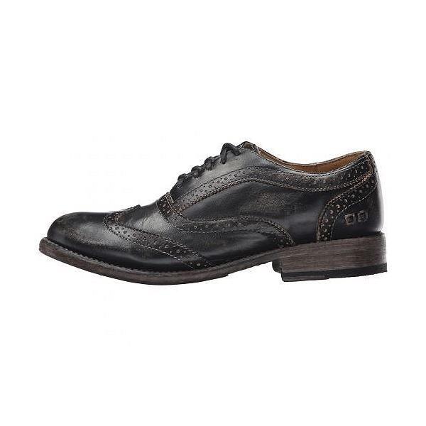 Bed Stu ベッドストゥ レディース 女性用 シューズ 靴 オックスフォード 紳士靴 通勤靴 Lita - Black Handwash Leather
