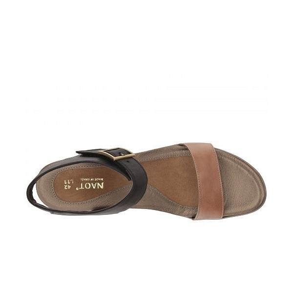 Naot ナオト レディース 女性用 シューズ 靴 ヒール Caprice - Arizona Tan Leather/Oily Coal Nubuck