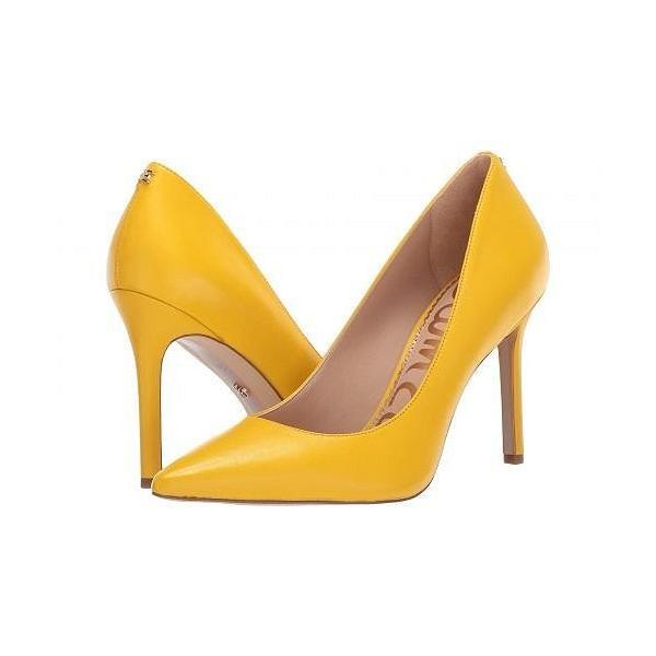 Sam Edelman サムエデルマン レディース 女性用 シューズ 靴 ヒール Hazel - Lemon Zest Dress Nappa Leather