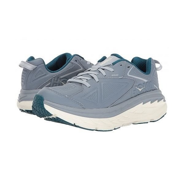 Hoka One One ホカオネオネ レディース 女性用 シューズ 靴 スニーカー 運動靴 Bondi Leather - Tradewinds