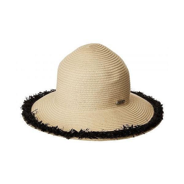 San Diego Hat Company サンディエゴハットカンパニー レディース 女性用 ファッション雑貨 小物 帽子 サンハット PBM1042OS Paperbraid w/ Pop Color Frayed