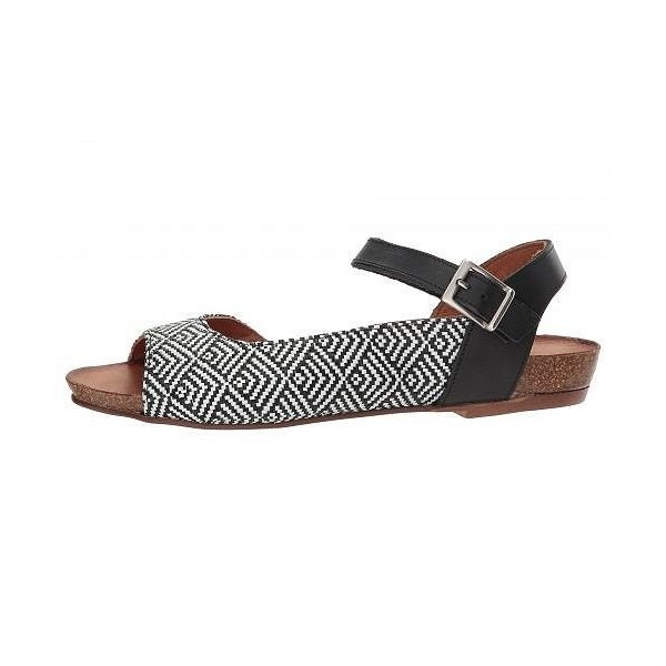 Spring Step スプリングステップ レディース 女性用 シューズ 靴 サンダル Asimona - Black