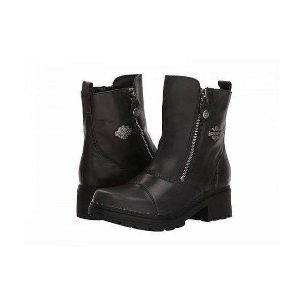Harley-Davidson ハーレーダビッドソン レディース 女性用 シューズ 靴 ブーツ ライダーブーツ Amherst - Black
