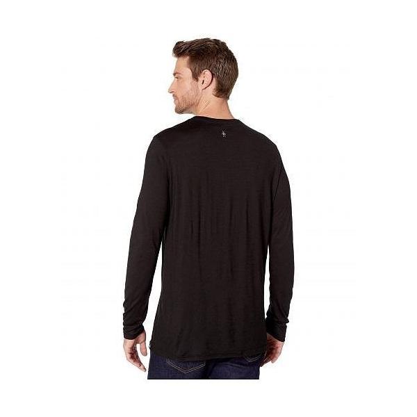 Smartwool スマートウール メンズ 男性用 ファッション アクティブシャツ Merino Sport 150 Mountain Aurora Long Sleeve Tee - Black|ilovela|03