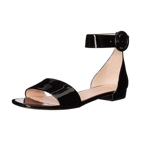 J.Crew レディース 女性用 シューズ 靴 サンダル Patent Leather Simple Strap Lucy - Black