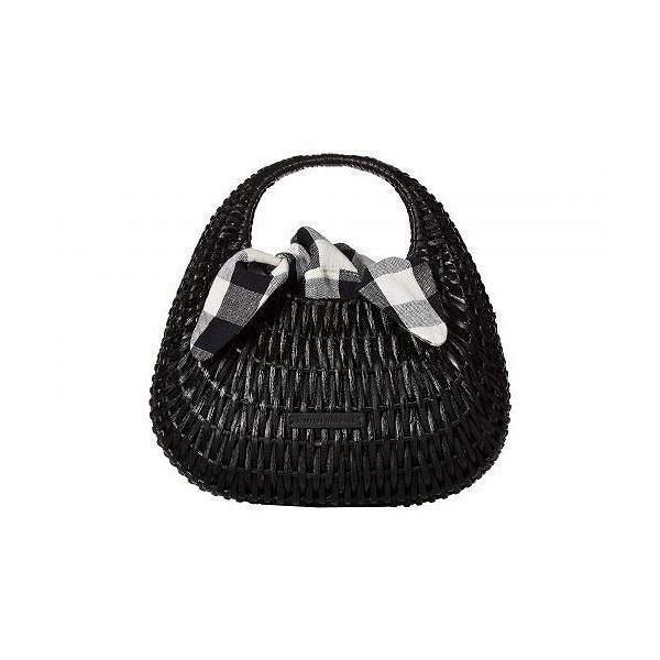 Loeffler Randall ロフラーランドール レディース 女性用 バッグ 鞄 トートバッグ バックパック リュック Lorna Wicker Tote - Black