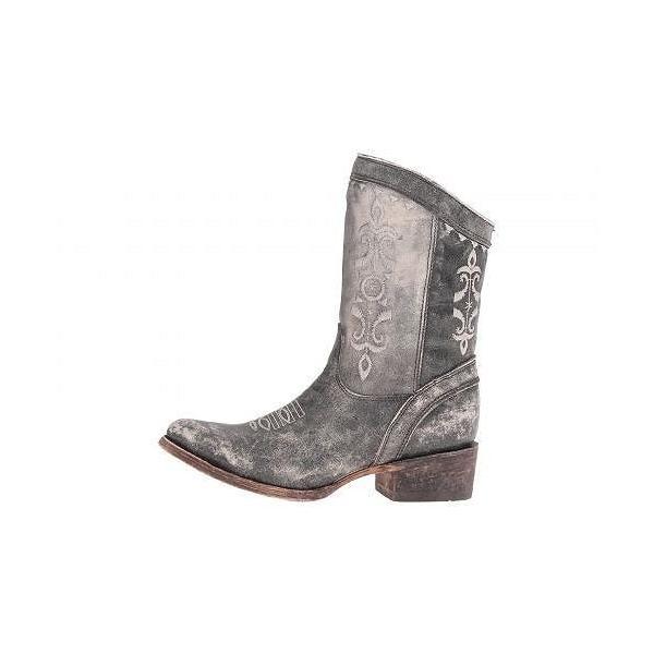 Corral Boots コーラルブーツ」 レディース 女性用 シューズ 靴 ブーツ ウエスタンブーツ C2804 - Black