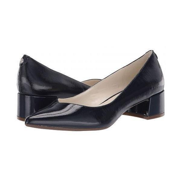 Anne Klein アン クライン レディース 女性用 シューズ 靴 ヒール Norwood Block Kitten Heel - Navy