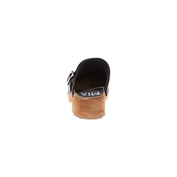 MIA エムアイエー レディース 女性用 シューズ 靴 クロッグ ミュール Alma - Black