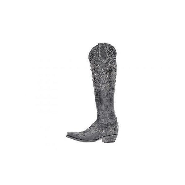 Old Gringo オールドグリンゴ レディース 女性用 シューズ 靴 ブーツ ウエスタンブーツ Gigna - Black