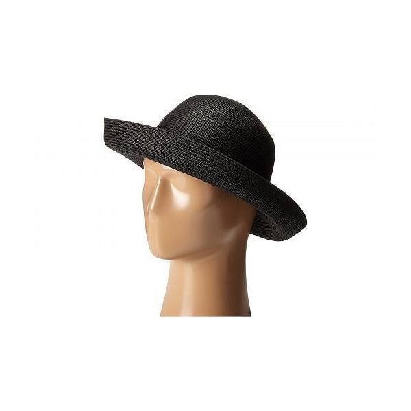 Betmar ベットマー レディース 女性用 ファッション雑貨 小物 帽子 サンハット Classic Roll Up - Black