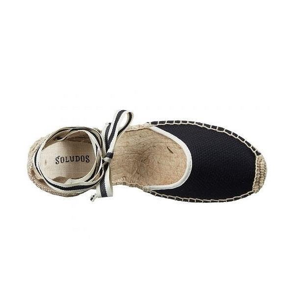 Soludos ソルドス レディース 女性用 シューズ 靴 フラット Classic Sandal - Black