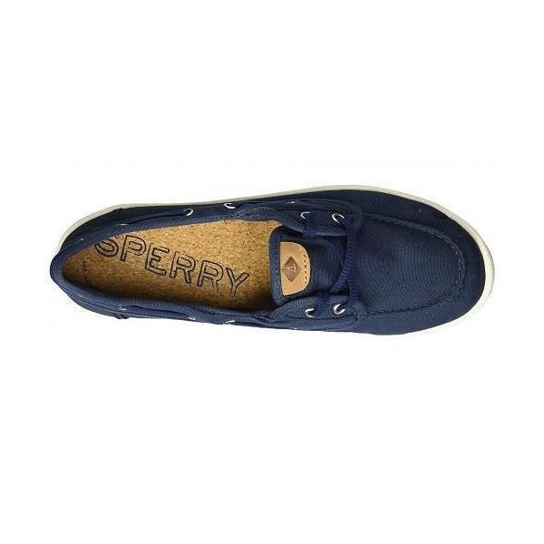 Sperry スペリー レディース 女性用 シューズ 靴 ボートシューズ Drift Hale - Navy