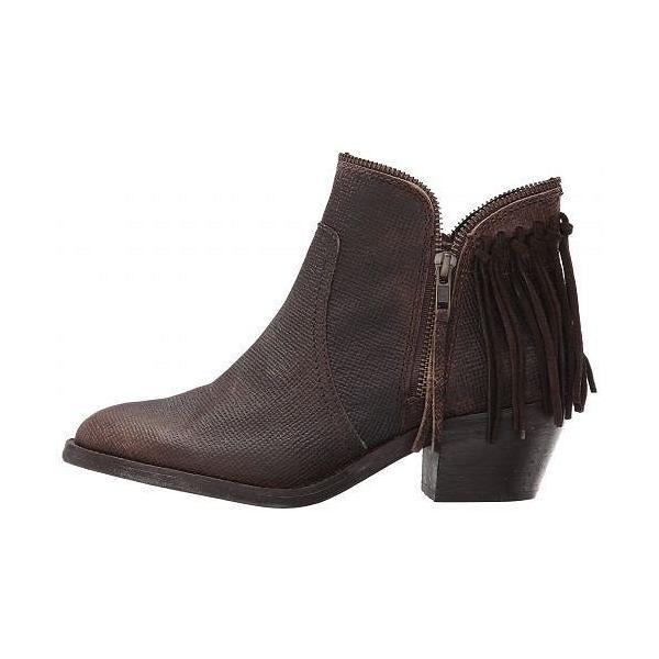 Corral Boots コーラルブーツ」 レディース 女性用 シューズ 靴 ブーツ アンクルブーツ ショート P5121 - Brown