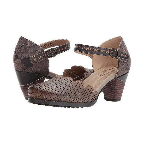 L'Artiste by Spring Step ラーティスト レディース 女性用 シューズ 靴 ヒール Parchelle - Gray