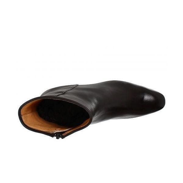 Gravati グラヴァティー レディース 女性用 シューズ 靴 ブーツ アンクルブーツ ショート Leather Ankle Boot - Black
