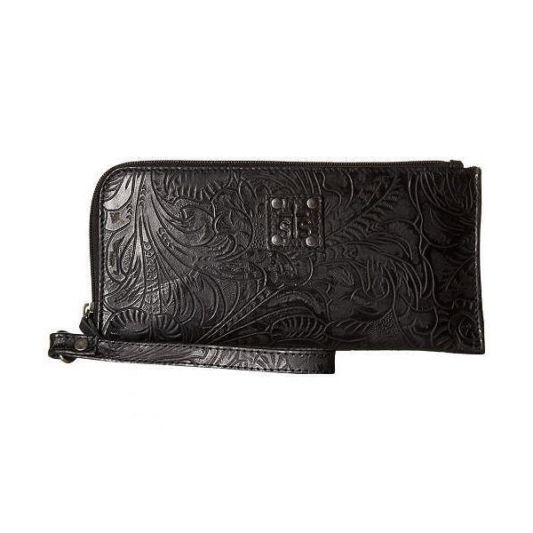 STS Ranchwear レディース 女性用 バッグ 鞄 ハンドバッグ クラッチ The Floral Clutch - Black