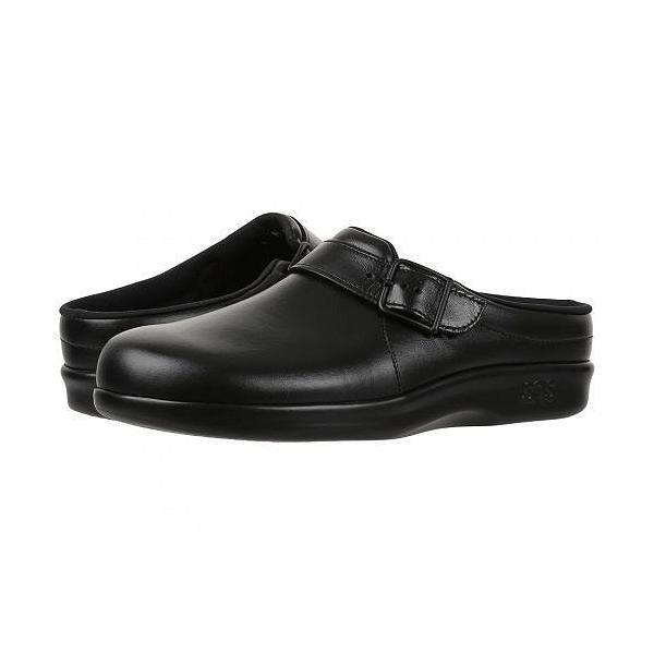 SAS サス レディース 女性用 シューズ 靴 クロッグ ミュール Clog - Black
