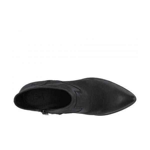 Frye フライ レディース 女性用 シューズ 靴 ブーツ アンクルブーツ ショート Reed Bootie - Black Nubuck
