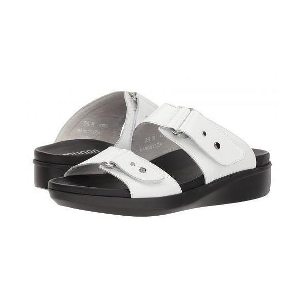 Munro ムンロ レディース 女性用 シューズ 靴 サンダル Maclaine - White Leather