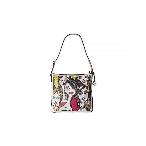 Brighton ブライトン レディース 女性用 バッグ 鞄 ホーボー ハンドバッグ Downtown Girls Hobo - Black Multi