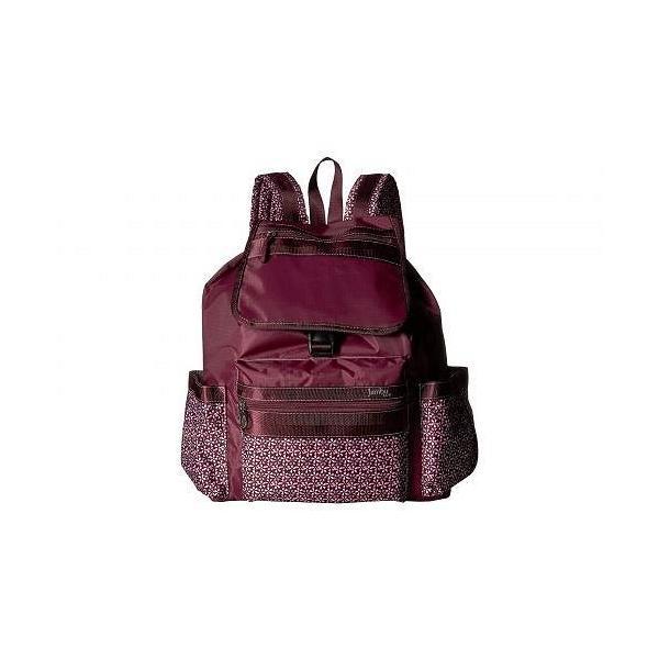 Jambu ジャンブ レディース 女性用 バッグ 鞄 バックパック リュック Drawstring Backpack - Wine