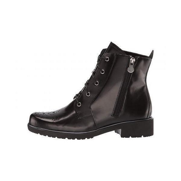 Munro ムンロ レディース 女性用 シューズ 靴 ブーツ レースアップブーツ Sarah - Black Leather