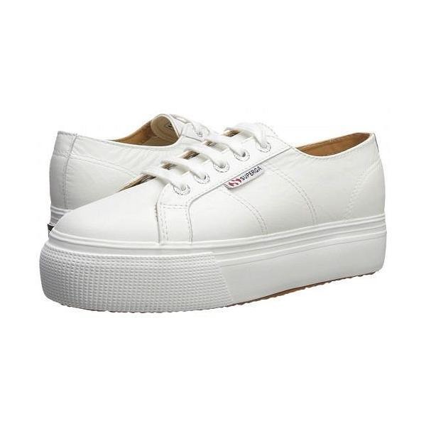 Superga スペルガ レディース 女性用 シューズ 靴 スニーカー 運動靴 2790 Nappaleaw Sneaker - White