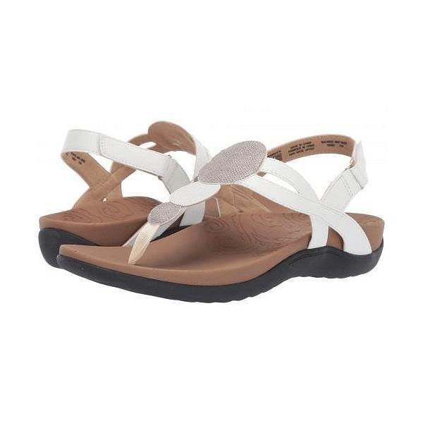 Rockport ロックポート レディース 女性用 シューズ 靴 サンダル Ridge Circle Thong - White