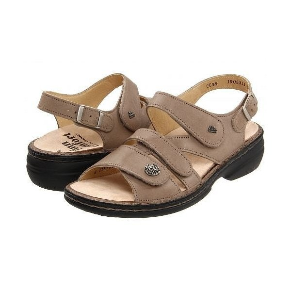 Finn Comfort フィンコンフォート レディース 女性用 シューズ 靴 サンダル Gomera - 82562 - Taupe
