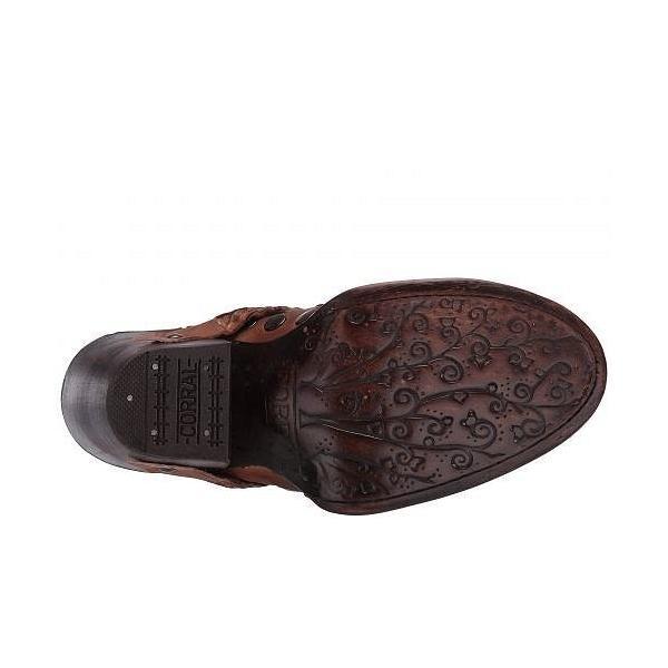 Corral Boots コーラルブーツ レディース 女性用 シューズ 靴 ブーツ アンクルブーツ ショート Z0060 - Chocolate