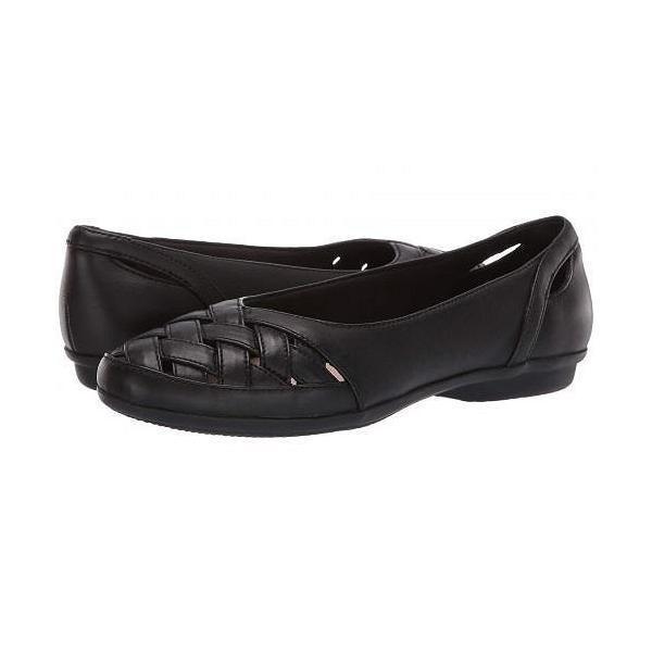 Clarks クラークス レディース 女性用 シューズ 靴 フラット Gracelin Maze - Black Leather