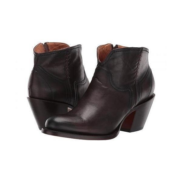 Lucchese ルケーシー レディース 女性用 シューズ 靴 ブーツ アンクルブーツ ショート Ericka - Chocolate