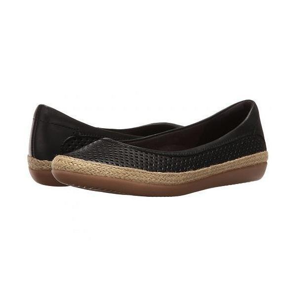Clarks クラークス レディース 女性用 シューズ 靴 フラット Danelly Adira - Black Leather