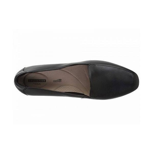 Clarks クラークス レディース 女性用 シューズ 靴 ローファー ボートシューズ Juliet Lora - Black Leather