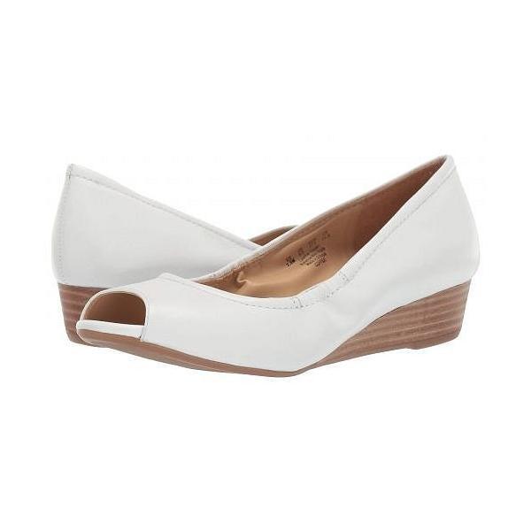 Naturalizer ナチュラライザー レディース 女性用 シューズ 靴 ヒール Copper - White
