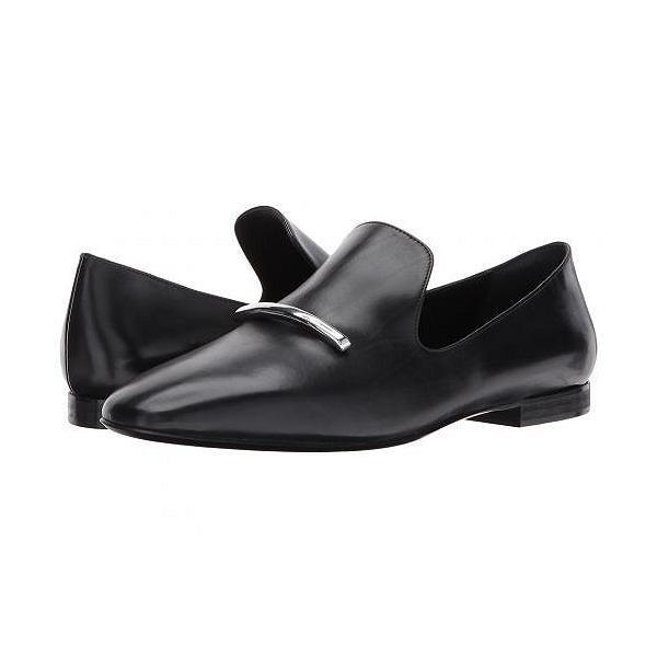 Via Spiga ヴィアスピーガ レディース 女性用 シューズ 靴 ローファー ボートシューズ Tallis - Black Leather