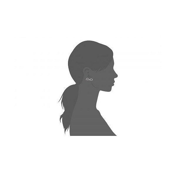 Swarovski スワロフスキー レディース 女性用 ジュエリー 宝飾品 イヤリング Lifelong Bow Pierced Earrings - White
