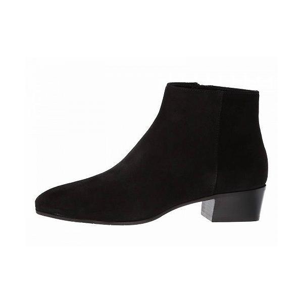 Aquatalia アクアタリア レディース 女性用 シューズ 靴 ブーツ アンクルブーツ ショート Fuoco - Black Suede