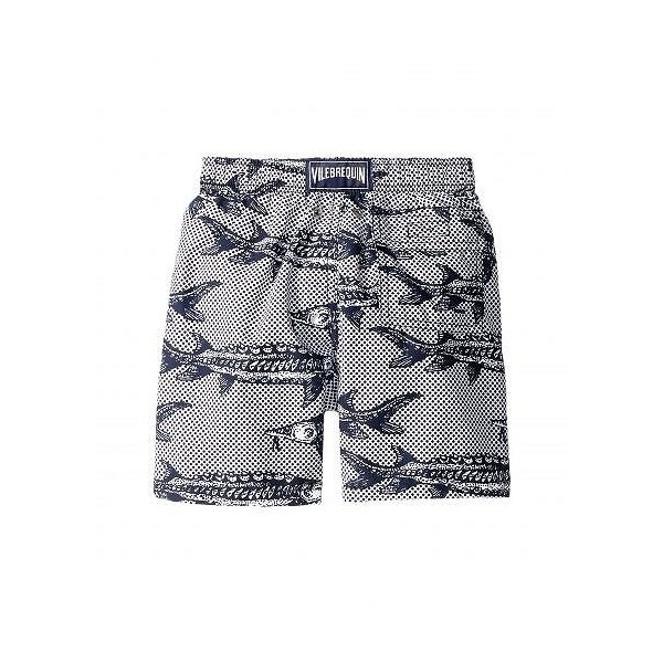 Vilebrequin Kids Mens Belle Ou Gars Jim Fish Printed Trunks Toddler//Little Kids//Big Kids