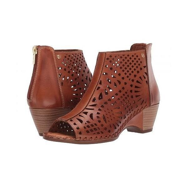 Pikolinos レディース 女性用 シューズ 靴 ブーツ アンクルブーツ ショート Romana W9X-1735 - Brandy