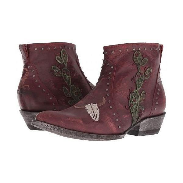 Old Gringo オールドグリンゴ レディース 女性用 シューズ 靴 ブーツ アンクルブーツ ショート Skull Joplin - Red