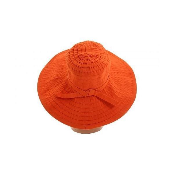San Diego Hat Company サンディエゴハットカンパニー レディース 女性用 ファッション雑貨 小物 帽子 サンハット RBL299 Crushable Ribbon Floppy Hat - Rust
