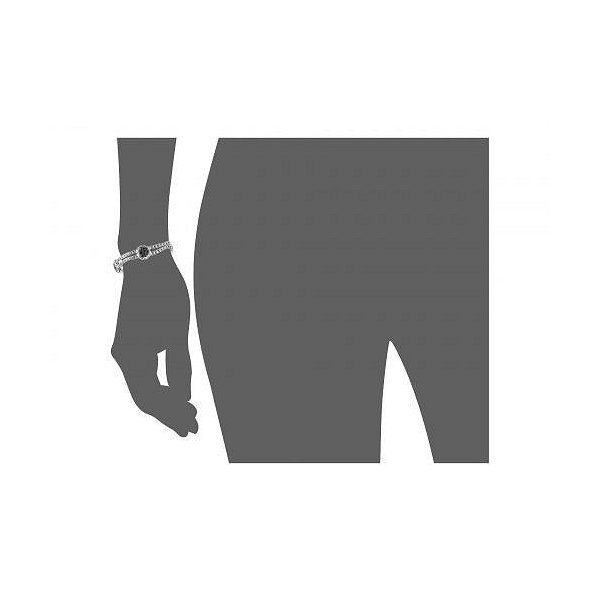 John Hardy レディース 女性用 ジュエリー 宝飾品 ブレスレット Kali Purelavafire Four-Station Bracelet with Black Sapphire - Silver