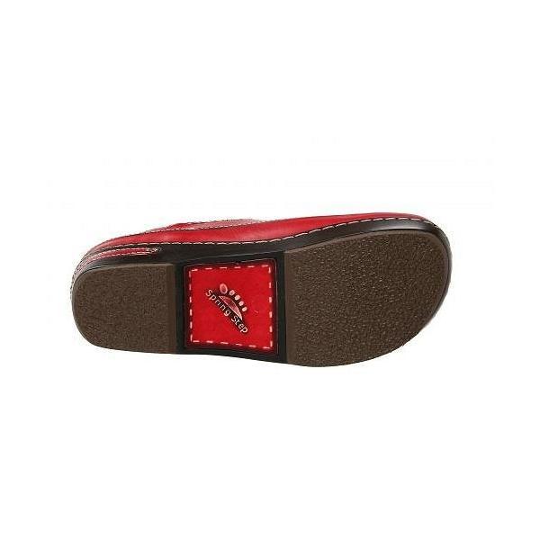 L'Artiste by Spring Step ラーティスト レディース 女性用 シューズ 靴 クロッグ ミュール Burbank - Red