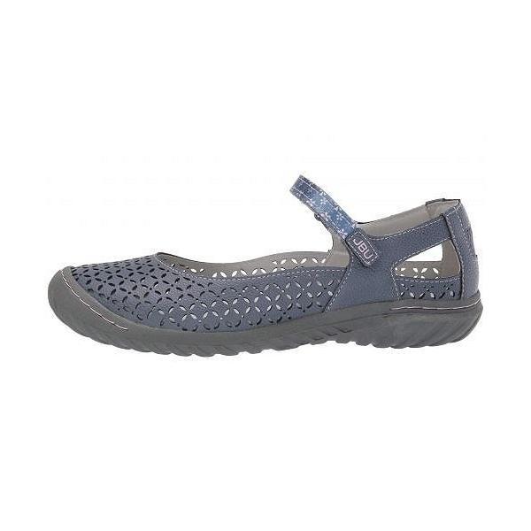 JBU ジェービーユー レディース 女性用 シューズ 靴 クロッグ ミュール Bamboo - Denim