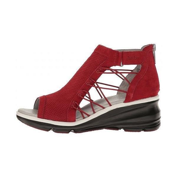 Jambu ジャンブ レディース 女性用 シューズ 靴 ヒール Naomi - Red
