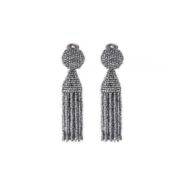 Oscar de la Renta オスカーデラレンタ レディース 女性用 ジュエリー 宝飾品 イヤリング Classic Short Tassel Earring - Silver