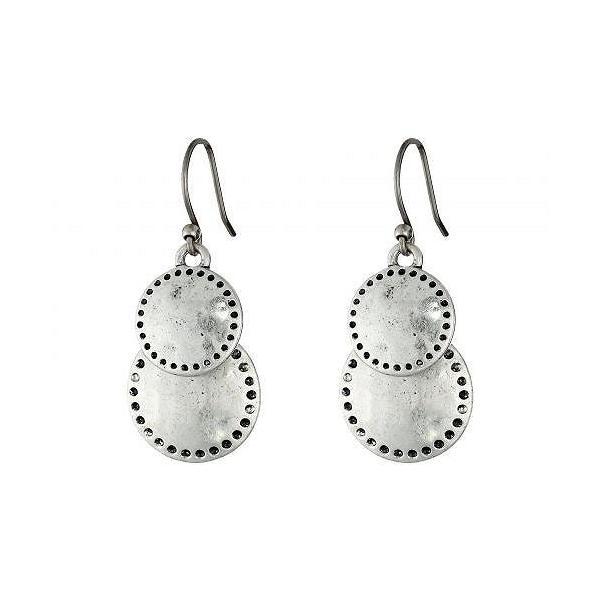 Lucky Brand ラッキーブランド レディース 女性用 ジュエリー 宝飾品 イヤリング Double Drop Earring - Silver